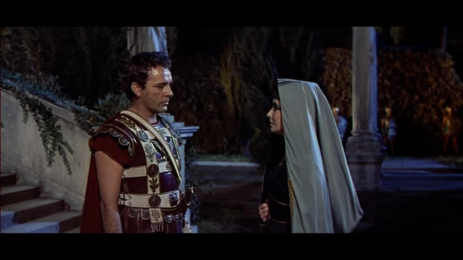 Cleopatra and Mark Antony)