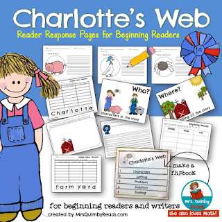 Charlotte's Web Study Pack for Grades K-1