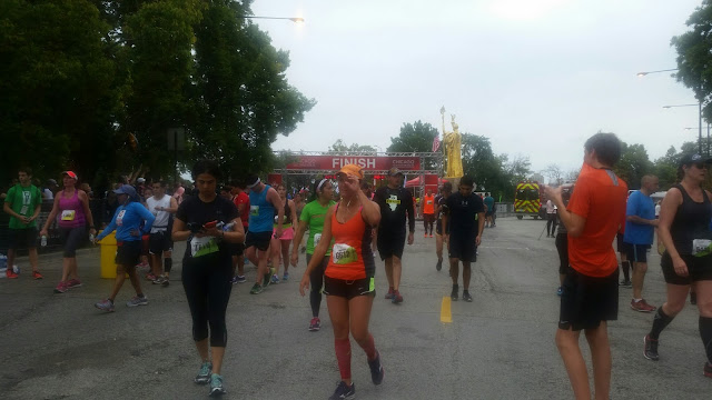 Chicago Half Marathon 2015