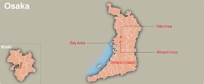 Osaka Map Regional City