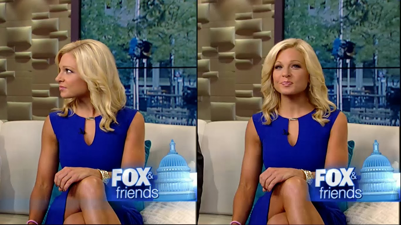 Saturday: Anna Kooiman caps/pictures/photos @ Fox and Friends.