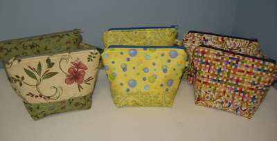 Six More Zippered Accessory Bags