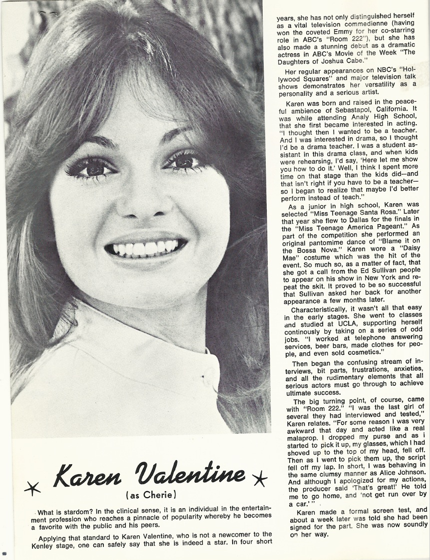 Karen Valentine Facebook Group