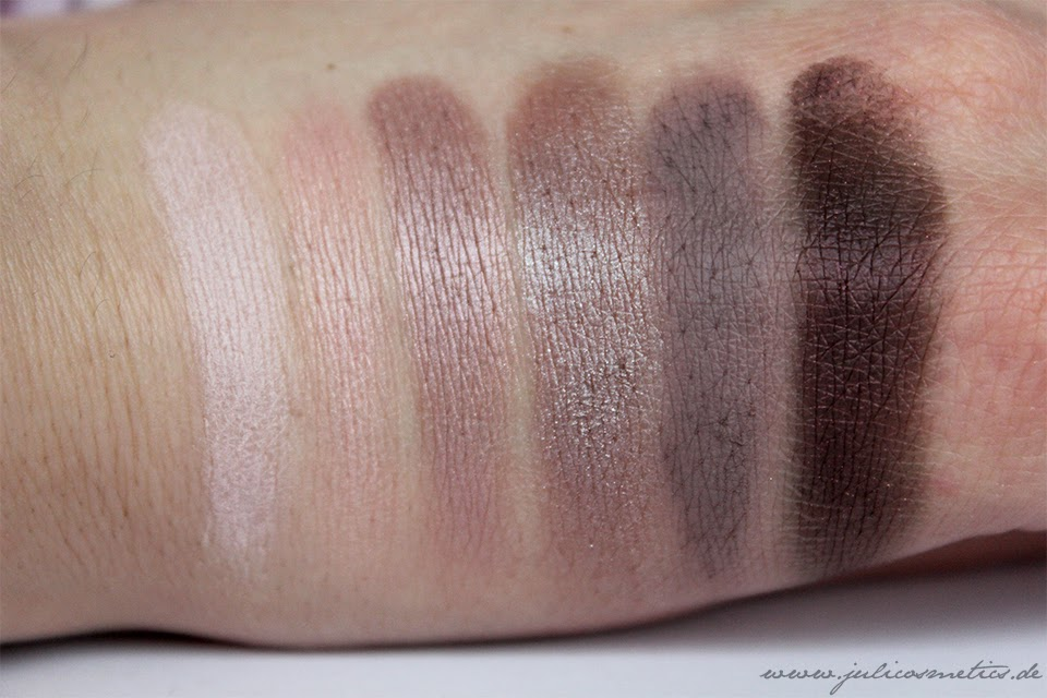 Catrice Absolut Rose Palette Swatch