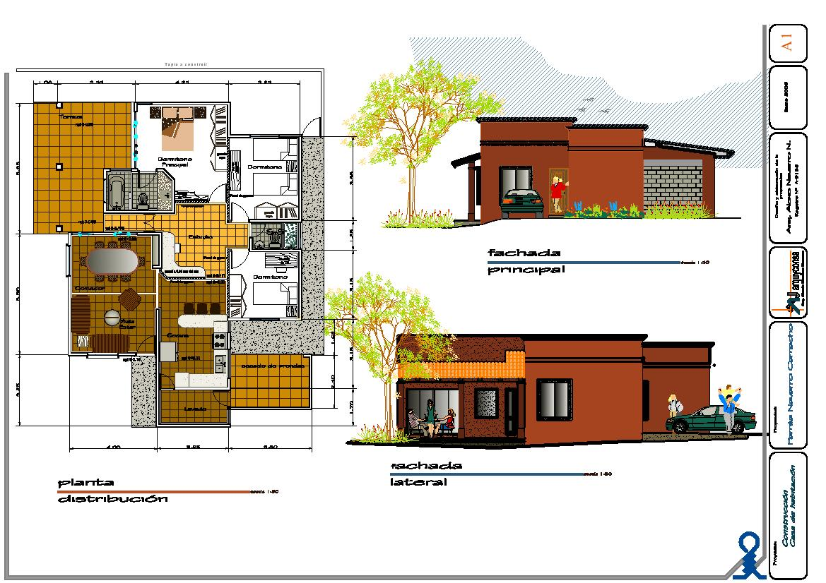 Proyectos casa familia navarro camacho la pitahaya cartago for Proyectos de casas