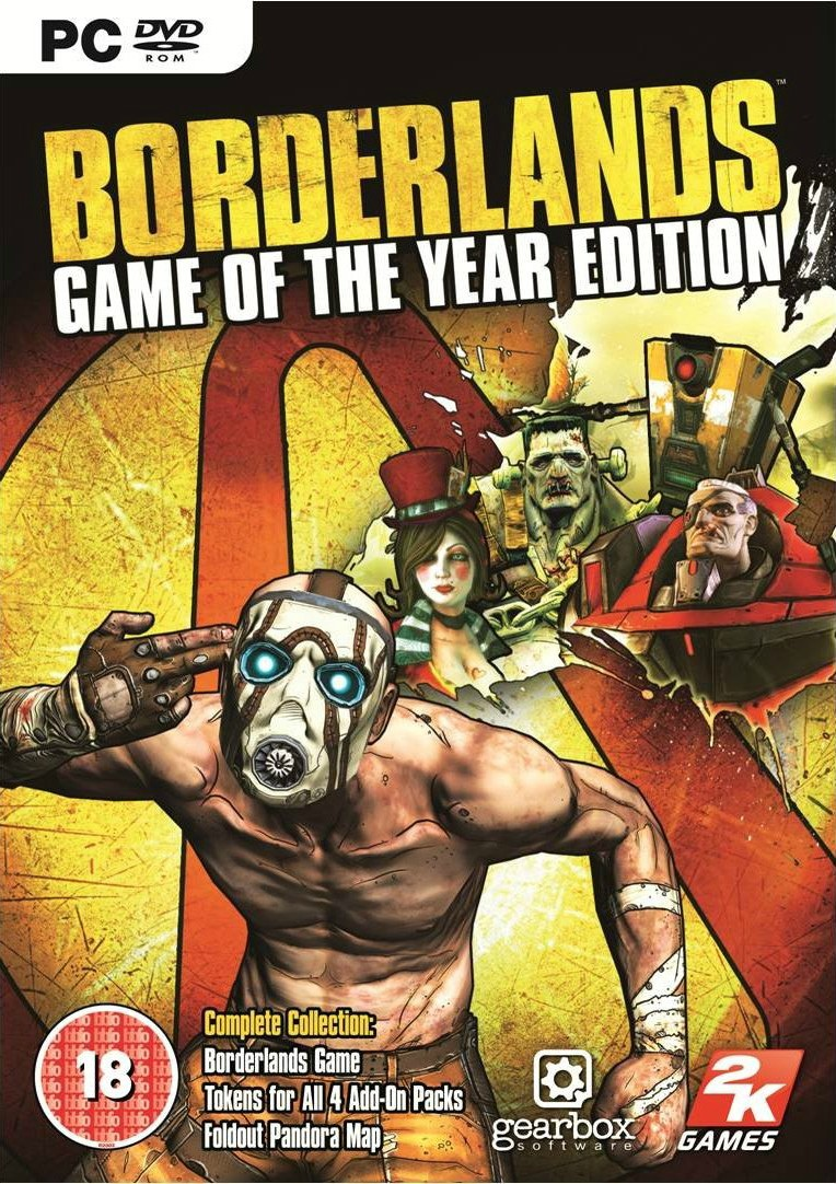 MY REAL FUN ..::: BORDERLANDS GAME OF THE YEAR EDITION
