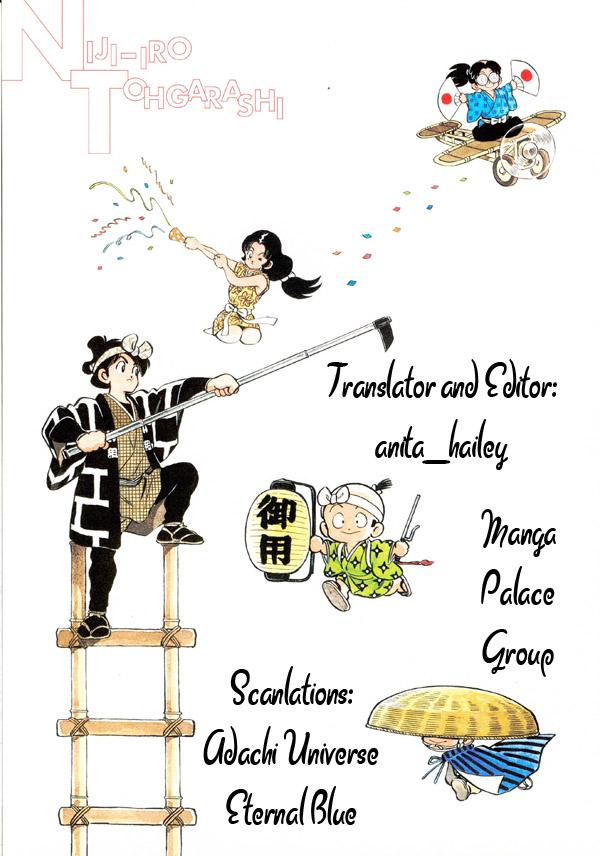 Nijiiro Togarashi - Ớt Bảy Màu chap 1 - Trang 35