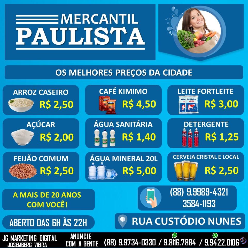 MERCANTIL PAULISTA DE ORÓS