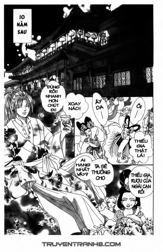 Đôi Cánh ỷ Thiên - Iten No Tsubasa chap 1 - Trang 5