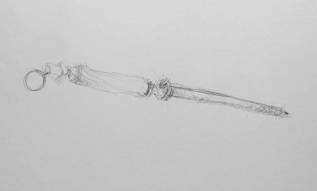 Sharpener 1. pencil on paper