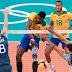 Brasil impõe virada épica e bate Argentina no vôlei masculino nas Olimpíadas
