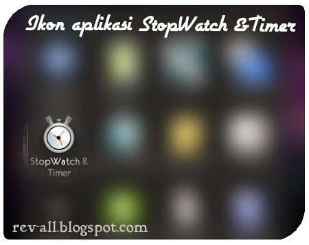 Ikon aplikasi StopWatch & Timer untuk Android (rev-all.blogspot.com)