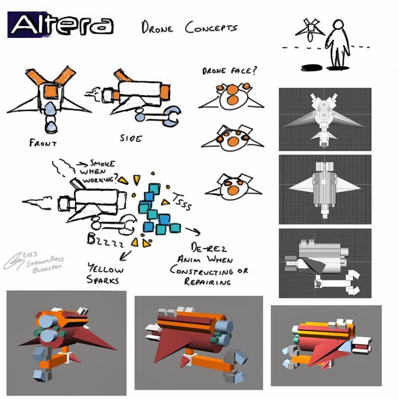 altera drone concepts