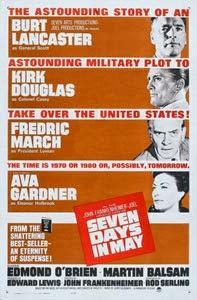 Poster original de Siete días de mayo