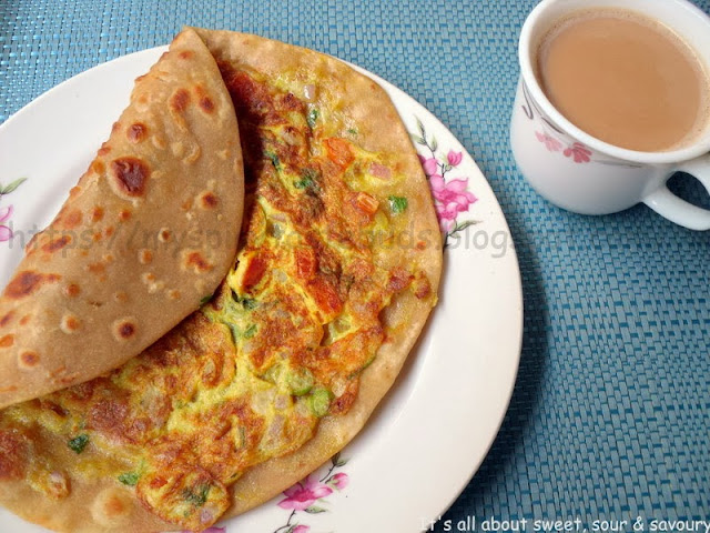 Anda Paratha/Egg Paratha