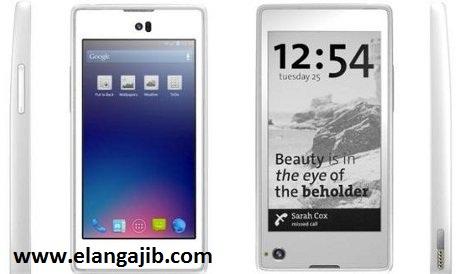 YotaPhone Ponsel Android Dengan 2 Layar Depan Belakang