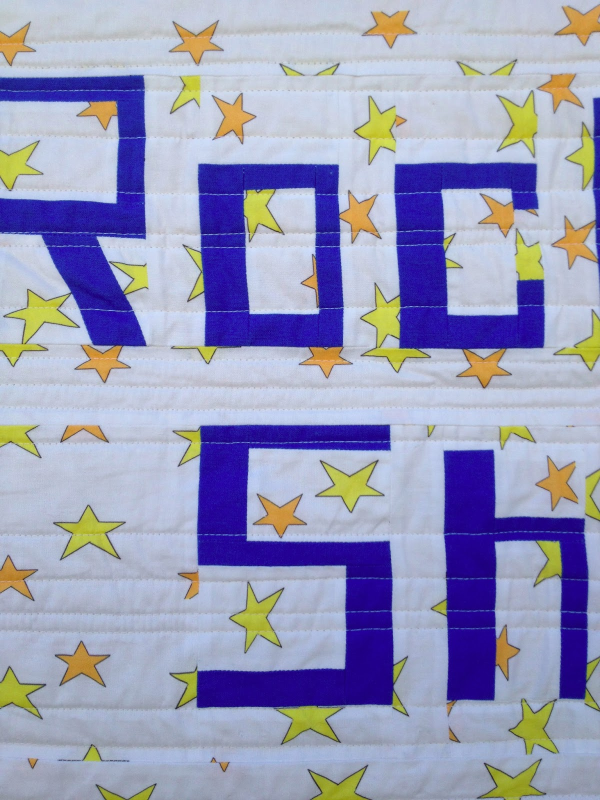Salty oat modern handmade quilts spoonflower staff for Spaceship quilt