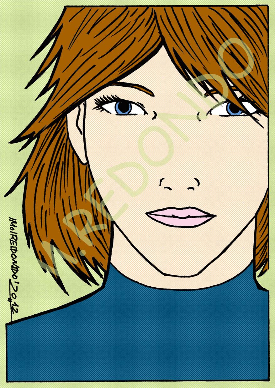 REDONDO- Comics: * Dibujos modelos de Peinados