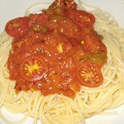 Espagueti salsa gorgonzola