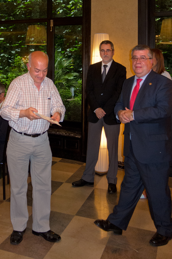 Manuel Díaz Bailón, Ángel Iglesias, Ángel Pérez