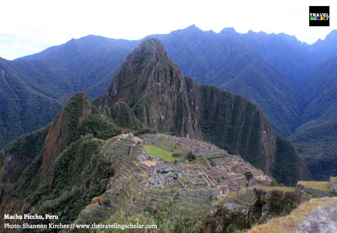 Incan fortress of Machu Picchu, Peru. Photo: Shannon Kircher for TravelBoldly.com