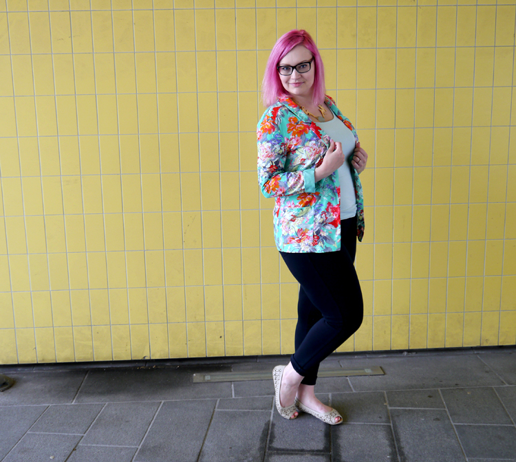 scotstreetstyle, Onward, tropical, fruit, Scottish style, ballet pump, high street shopping, budget style
