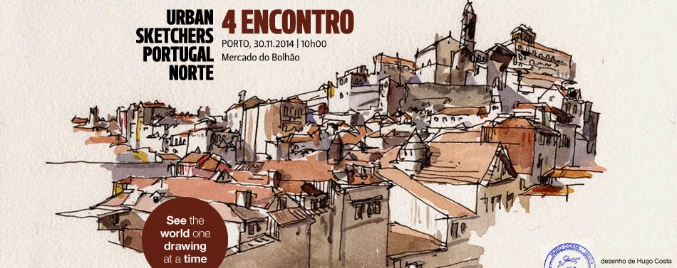 Urban Sketchers PORTUGAL NORTE