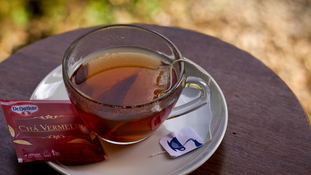 Chá Vermelho Dr. Oetker. Foto: Yuri Hayashi