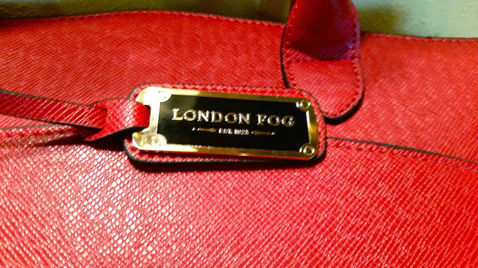 Red London Fog Bag