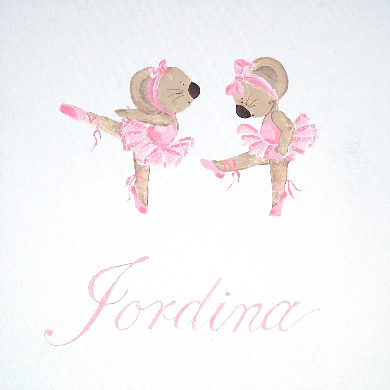 Illusions d 39 enfants ratoncitas bailarinas - Cuadros bailarinas infantiles ...
