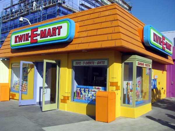 Loja dos Simpsons Universal Orlando