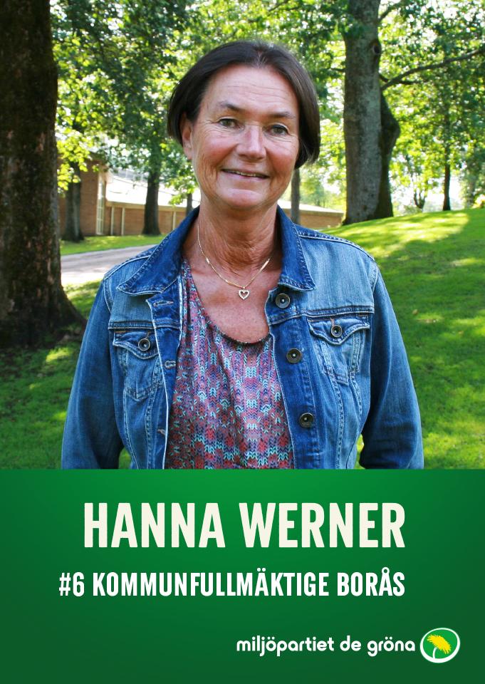 Fullmäktigekandidater - #6 Hanna Werner