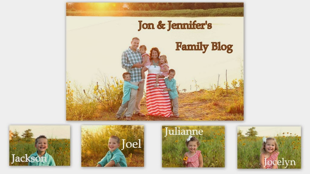 Jon & Jennifer's Family Blog