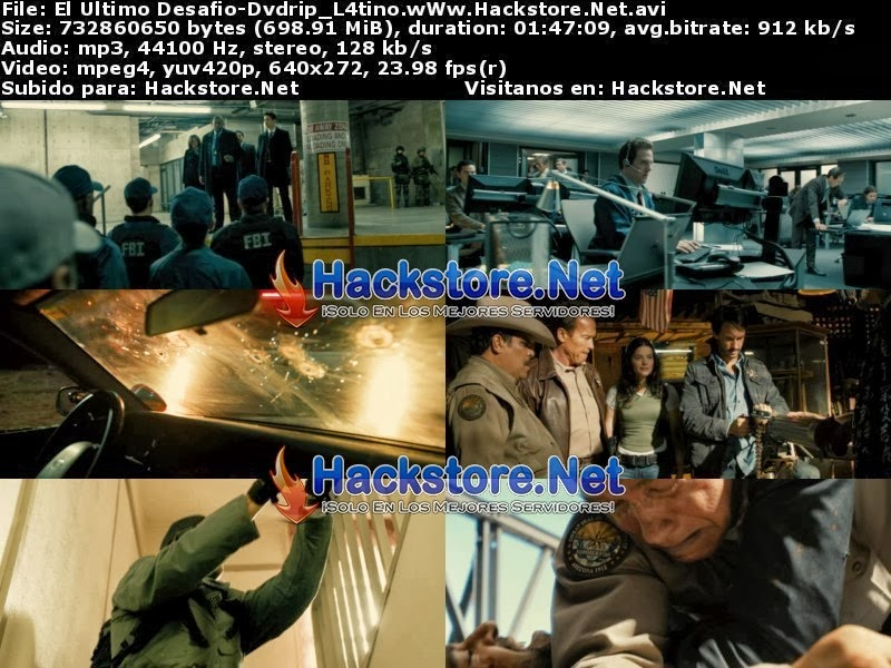Captura El Último Desafío 2013 DVDRip Latino