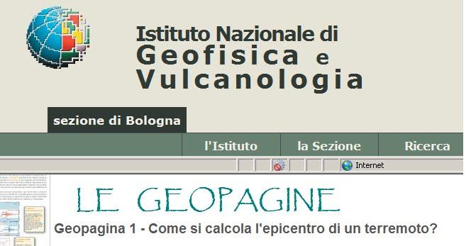 L'Istituto Nazionale di Geofisica e Vulcanologia