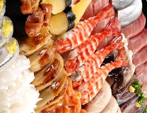 Japanese menu nigiri sushi