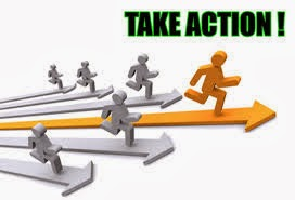 Take Action, Action Is Power ( Tindakan Adalah Kekuatan )