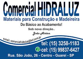 COMERCIAL HIDRALUZ MATERIAIS PARA CONSTRUÇÃO E MADEIREIRA