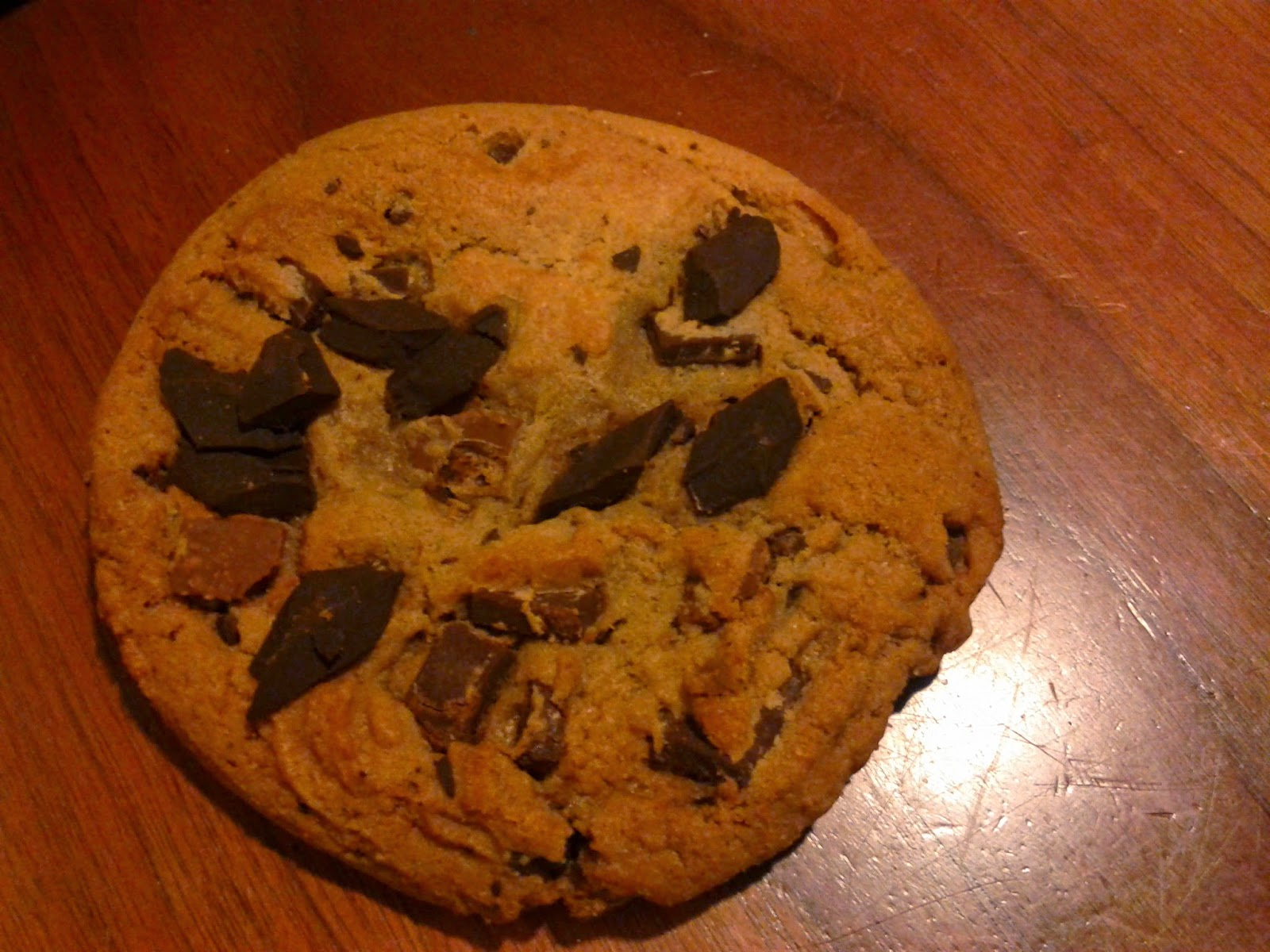 Stock Photo: Chocolate Chunk Cookie