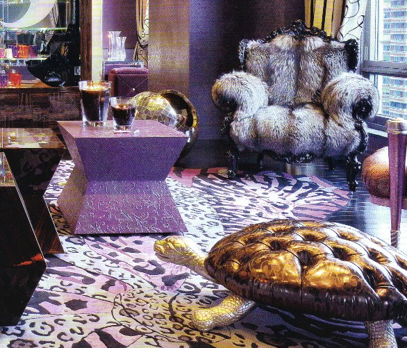 Kitsch Decoracion De Interiores ~ arte y moda una decoraci?n de interiores fuera de esquemas