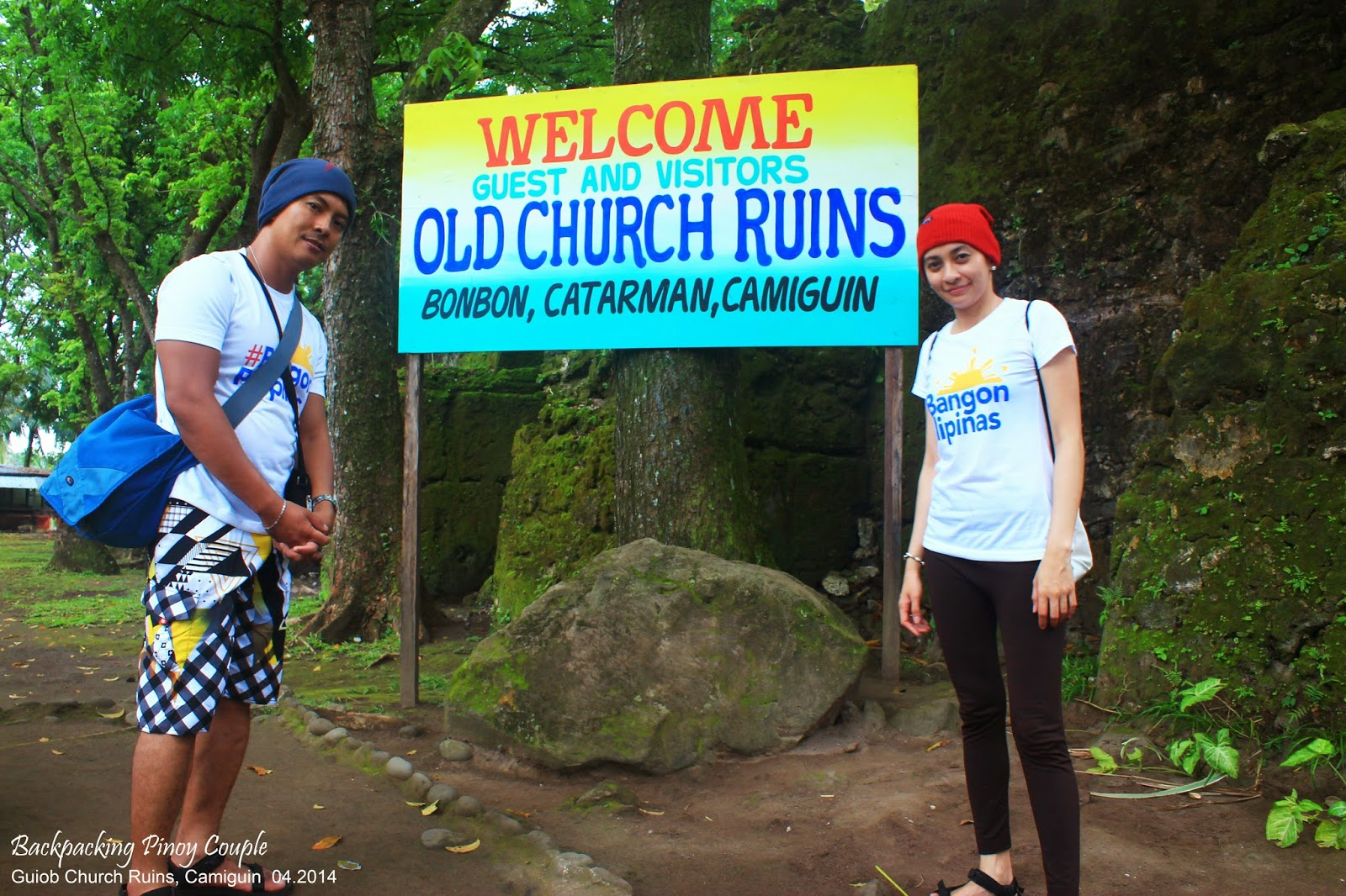Backpacking Pinoy Couple, Backpacking Philippines, Northern Mindanao, Philippine travel, Camiguin, How to go to Camiguin, Guiob Church Ruins, Old Church Ruins, San Roque Church Ruins, Old Catarman, what to do in camiguin, where to go in camiguin
