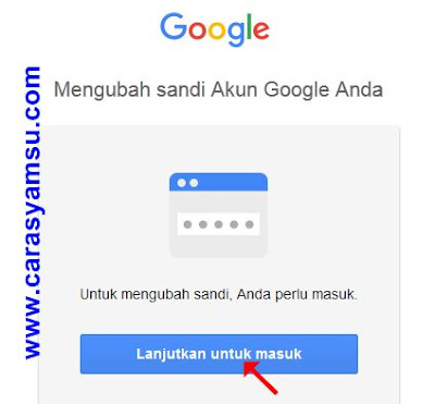 Cara Mengganti Password Email Gmail