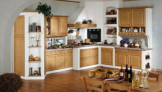 Close Door Wall Kitchen Cabinets
