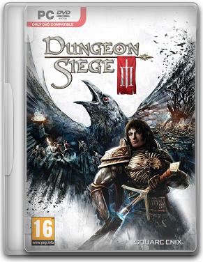 Capa Dungeon Siege III   PC (Completo) 2011 + Crack