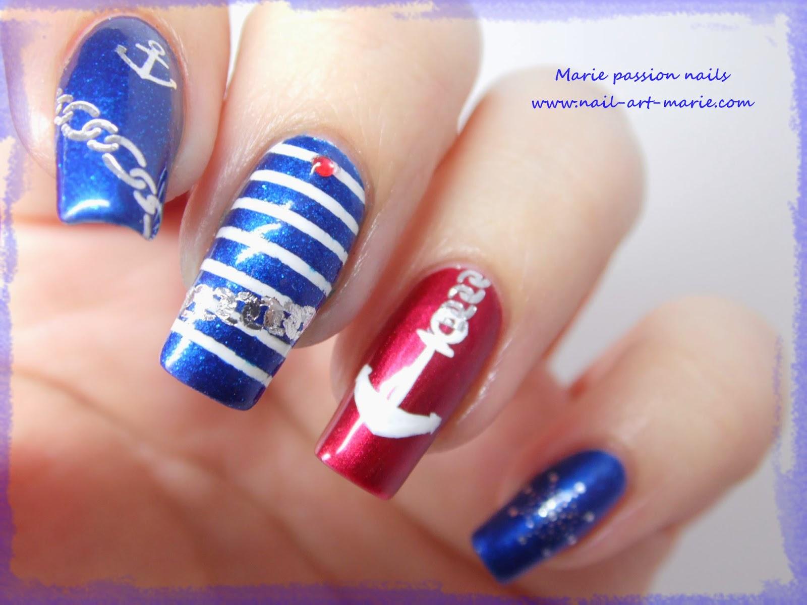 Nail art marin8