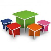 Kids Table & Stools