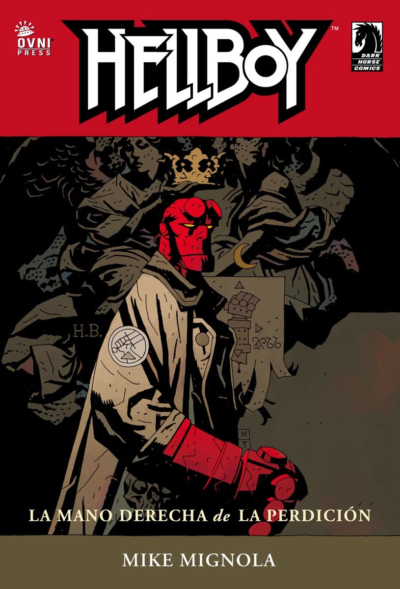 Hellboy, la mano derecha de la perdicion, un comic sobrenatural