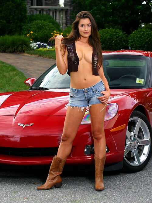 cool trucks with hot naked girls