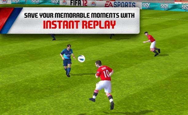 game ini tampilannya bagus khusus penggemar game sepak bola wajib ...
