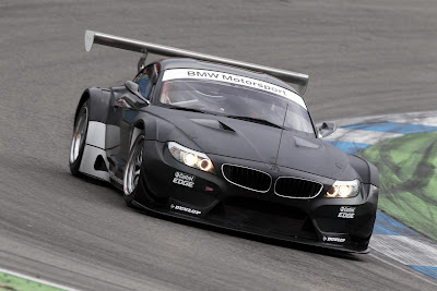 Wallpaper BMW Z4 GT3 2012
